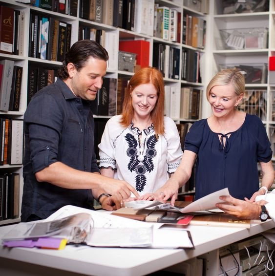 Interior Designers collaborating
