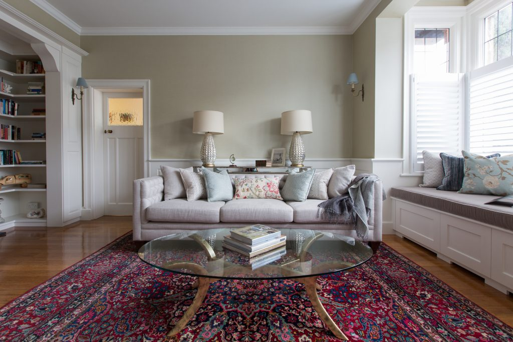 Antique Rug | Living Room by Casey & Fox