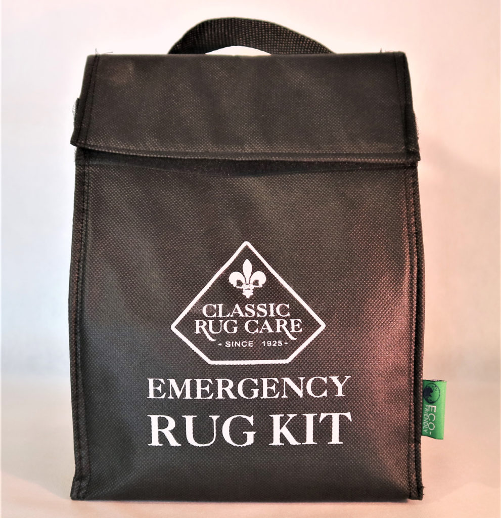 Classic Rug Care | Emergency Rug Bag