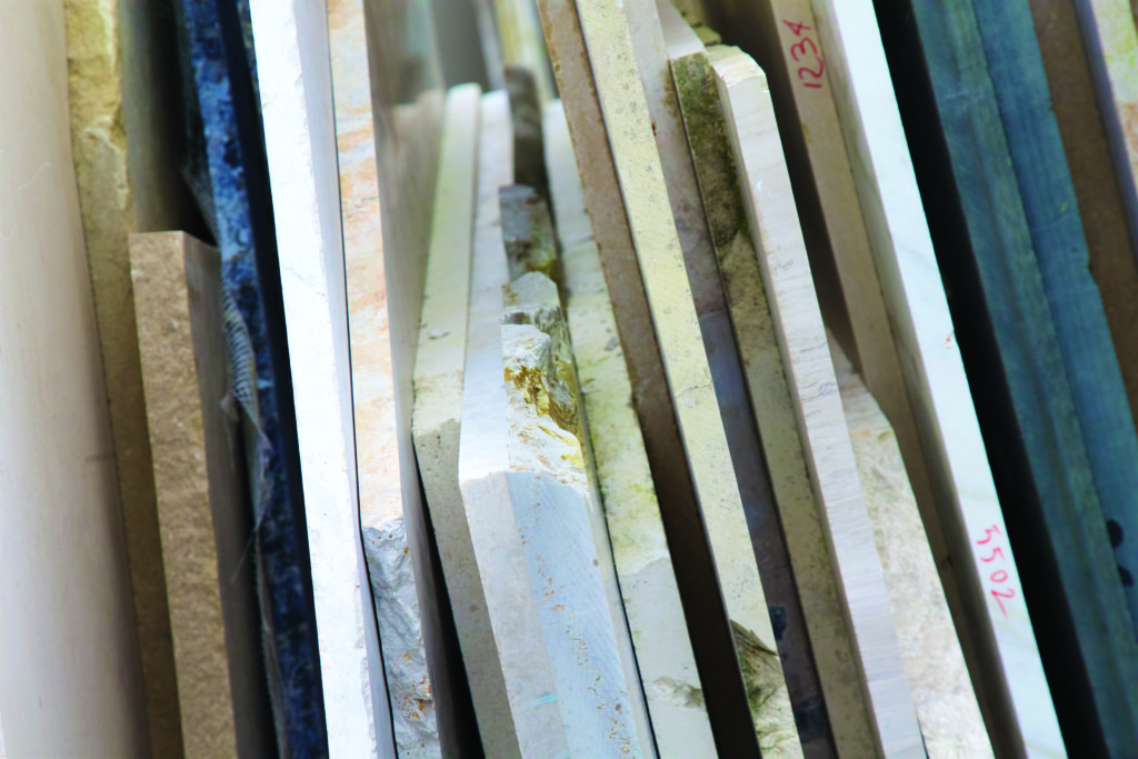 Artisans of Devizes | just a small selection of their stone finishes