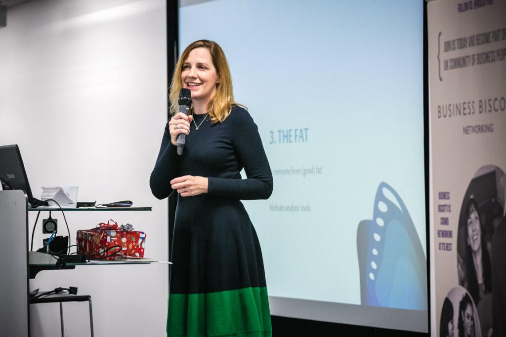 Vanessa Hunt | Key Note Speaker at BIG Biscotti in 2018