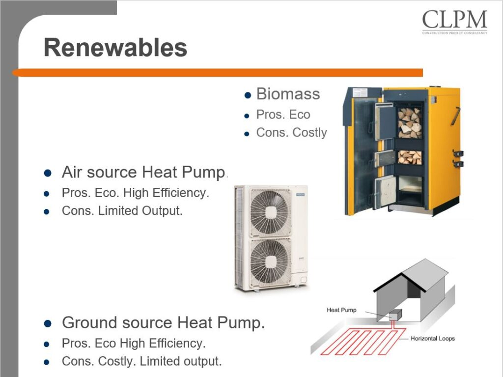 CLPM sustainable heating solution